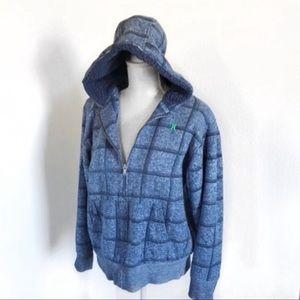 Hurley Hooded Shearling Sweatshirt 16